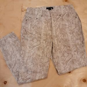 2 for $25- Tribal Cotton Pants, Size 4